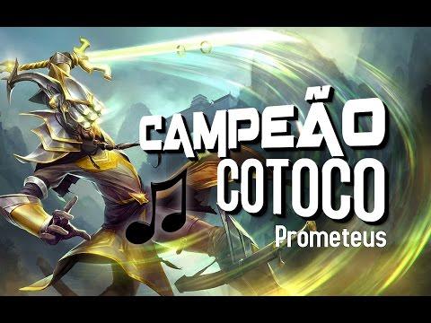CAMPEÃO COTOCO Paródia MC João - Baile de Favela