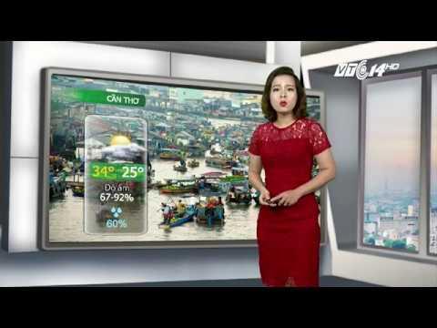 VTC14 | Thời tiết các thành phố lớn ngày 03/09/2017 | Bản tin dự báo thời tiết | Diễn biến bão số 8