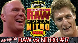 "Raw vs Nitro ""Reliving The War"": Episode 17 - Jan 8th 1996"