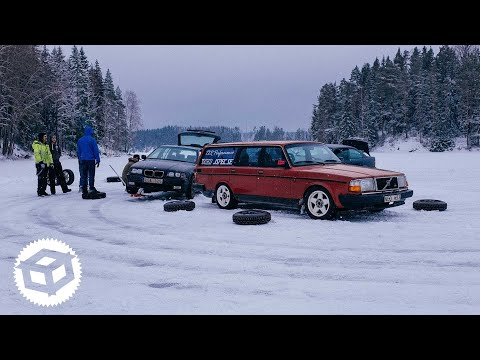 Ice Drifting on a Snowy Frozen Lake and WRC Sweden | Juicebox Unboxed #31