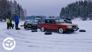 Ice Drifting on a Snowy Frozen Lake and WRC Sweden Juicebox Unboxed #31