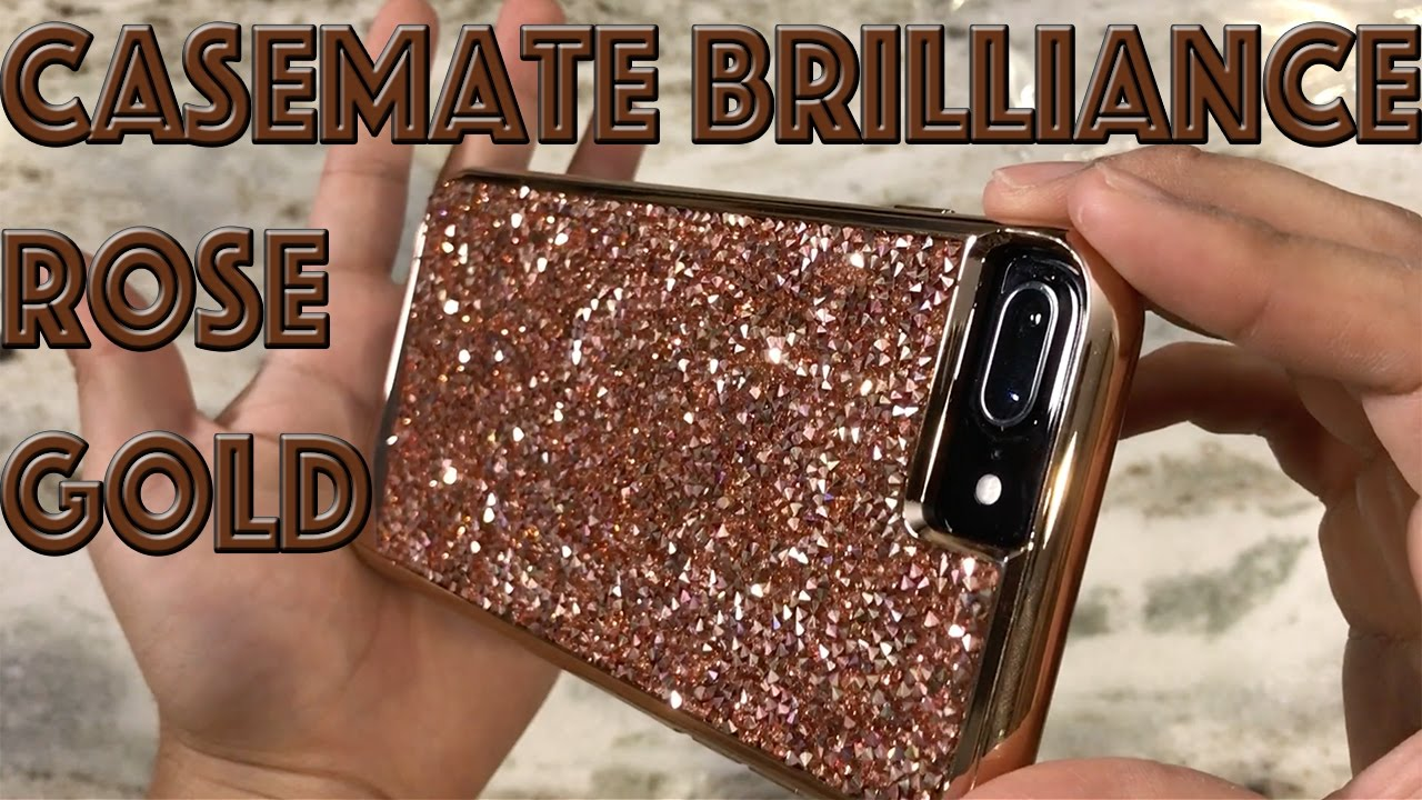 sale retailer 26fc2 6e675 iPhone 7 Plus Case Mate Brilliance Tough Rose Gold Case Review
