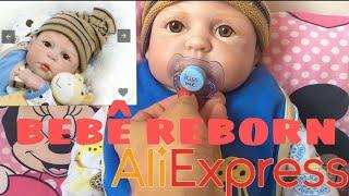 Обложка на видео о Bebê Reborn Aliexpress