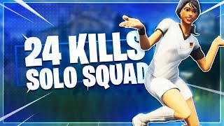 24 Kill Solo Squad | Liquid Vivid | Fortnite Battle Royale