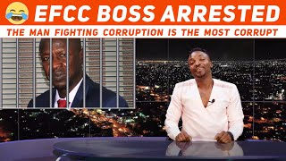 EFCC BOSS ARRESTED ! Ibrahim Magu suspended for corruption ! (Pararan Mock News)