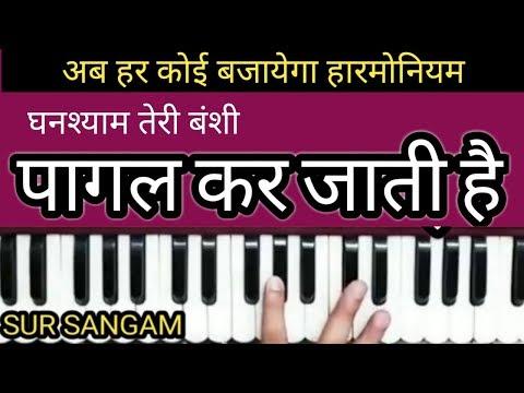 Ghanshyam Teri Banshi Pagal Kar Jaati Hai II Krishna Bhajan II Sur Sangam II  Sing II Harmonium