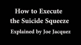 The Baseball Suicide Squeeze Play Explained