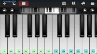 Download Hindi Video Songs - Mehram | Arijit Singh | Kahaani 2 | Mobile Piano Tutorial