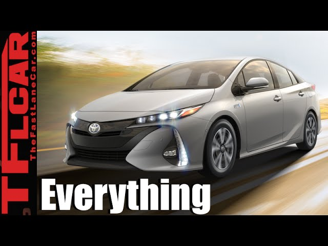 The 2017 Toyota Prius Is No Longer the Same As It Ever Was