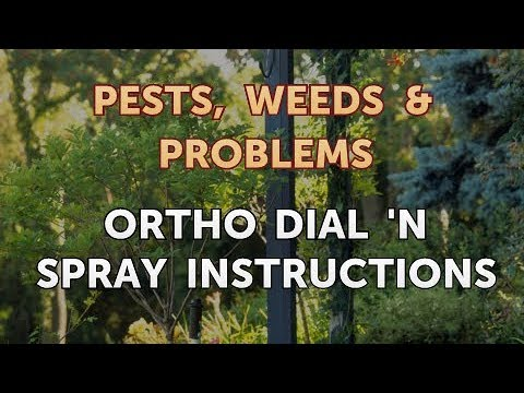 Ortho Dial N Spray Instructions