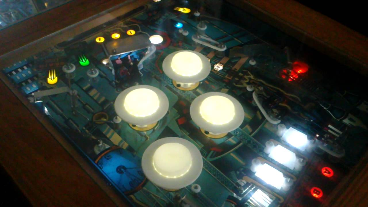 Pinball coffee table light sequence youtube pinball coffee table light sequence geotapseo Image collections