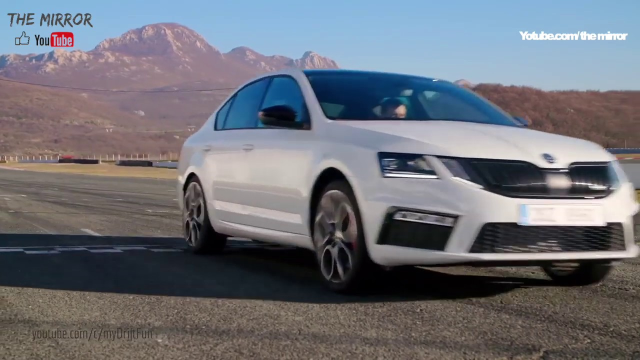2019 Skoda Octavia RS (230 PS) - on the Race Track - YouTube