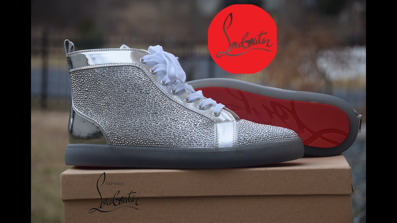 9bbc6700a2d4 Christian Louboutin Louis Strass Sneakers Review + On Feet Review ...