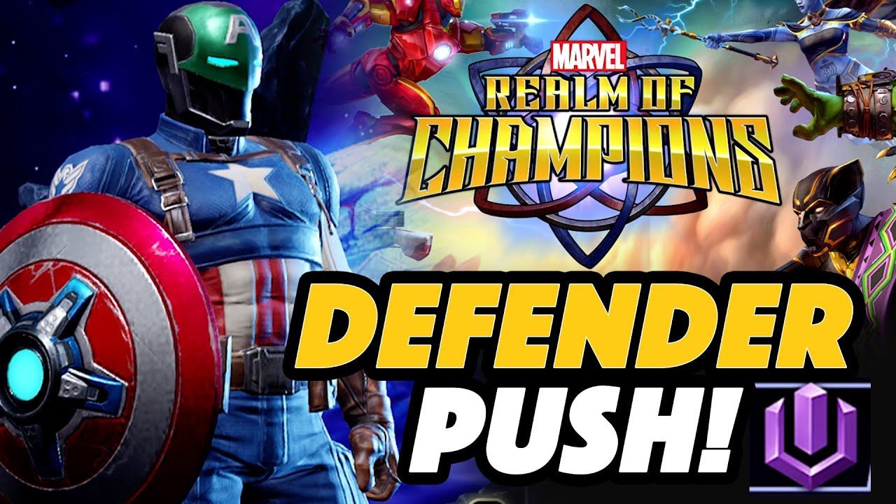 SUPER SOLDIER Defender Push - Marvel Realm Of Champions