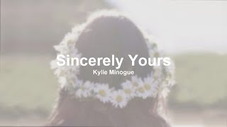 Kylie Minogue - Sincerely Yours (Traducida al Español)