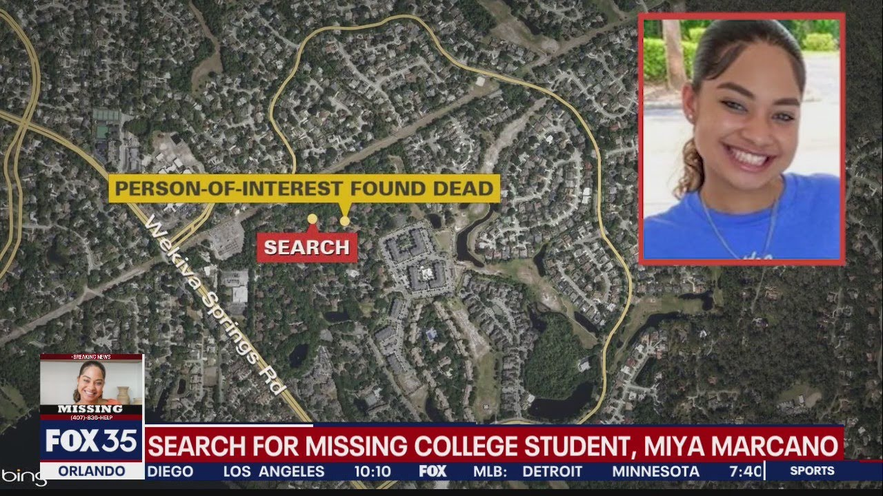 The body of missing Florida college student Miya Marcano has been ...
