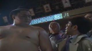 Takanohana : publicité pour Suntory Boss