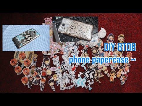 DIY KPOP 비투비 BTOB phone papercase ~