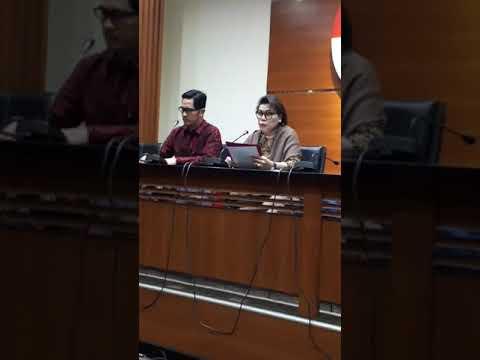 Konferensi Pers KPK: OTT dan Tetapkan Gubernur Kepri Nurdin Tersangka Suap Reklamasi