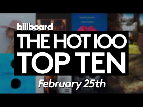Early Release! Billboard Hot 100 Top 10 February 25th 2017 Countdown | Official