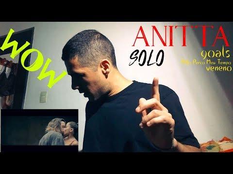 Anitta - Solo Goals Não Perco Meu Tempo & Veneno  Reacción