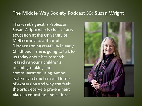 Middle Way Society Podcast: 35 Susan Wright on creativity in early childhood
