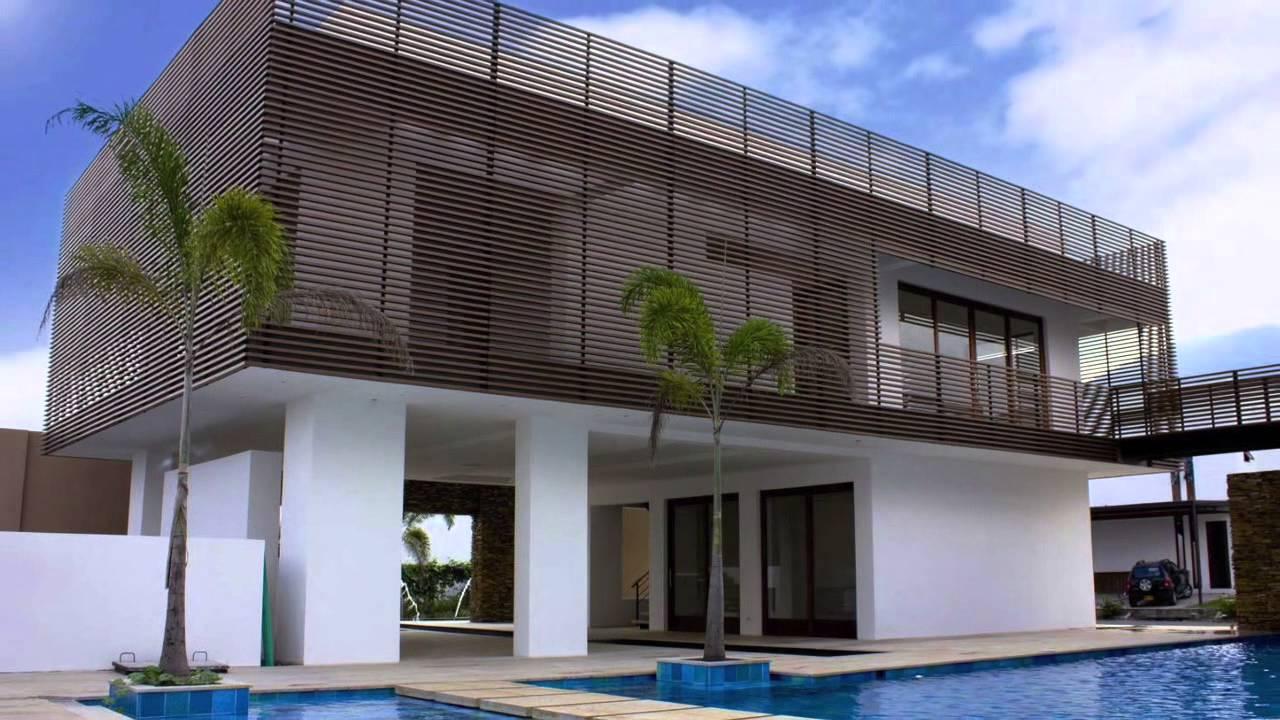 Revestimiento de fachadas con madera youtube for Fachadas modernas para oficinas