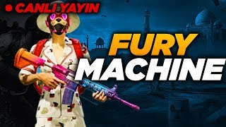 ERSİN YEKİN VE FURY TEAM İLE FATİH LİGİ RANK KASIMI / PUBG MOBİLE
