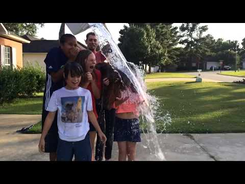 Caitlyn's Ice Bucket Challenge