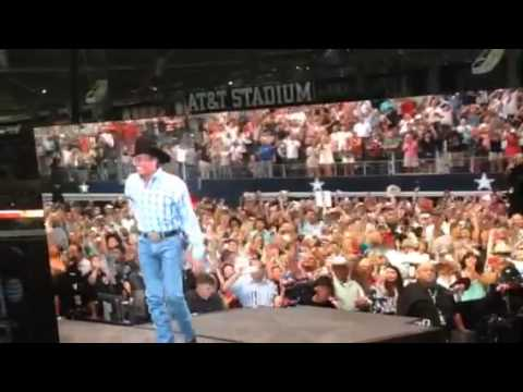George Strait Opening