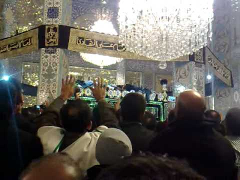 Arbaeen / Chehlum at the Shrine (Roza) of Sayyida Zainab Damascus Syria (Shaam) 2010
