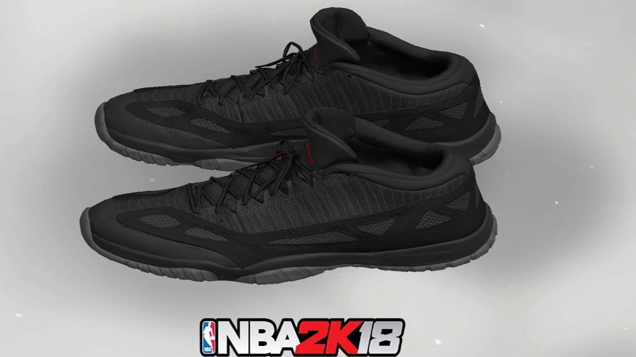 NBA 2K18 Shoe Creator ⋆ NBA2K18⋆ Jordan 11 Low IE Referee - YouTube 26f1c16d8