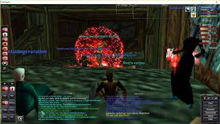 Project 1999 EverQuest.  Fiance and I duoing and grouping in Highkeep!