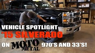Spotlight - 2014 Chevy Silverado 1500 Leveled, 20x10's, and 33's
