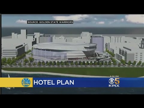 Warriors Plan To Build Hotel Next To New Chase Center Arena In SF