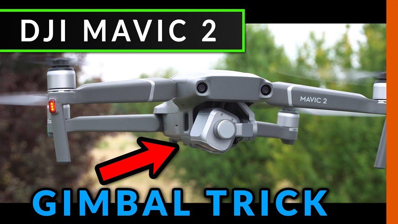 Dji Mavic 2 Zoom    Pro  Geheimer Gimbal-trick