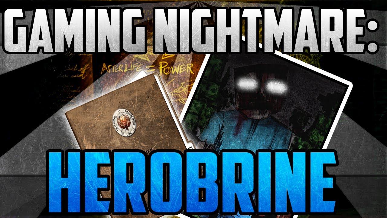 Gaming Nightmares: Herobrine | Hoax Or A Curse? - Herobrine (Gaming  Creepypasta)