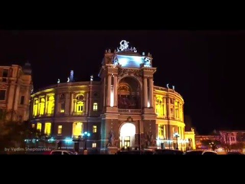 Odessa night timelapse trailer_by Vadim Shepanivskiy(ART ONLY STUDIO)