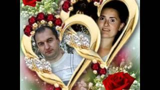Аня и Андрей!С днём свадьбы! 15 лет счастья! 1.02.2012.