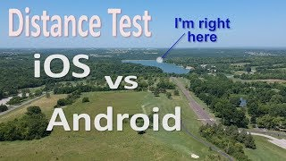 OTG vs WiFi & iOS vs Android on a DJI Spark | Distance Test