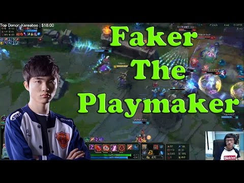 Rush vs Faker in Korean Solo Queue - Funny Moments and Highlights 2