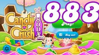 Candy Crush Soda Saga Level 883 No Boosters
