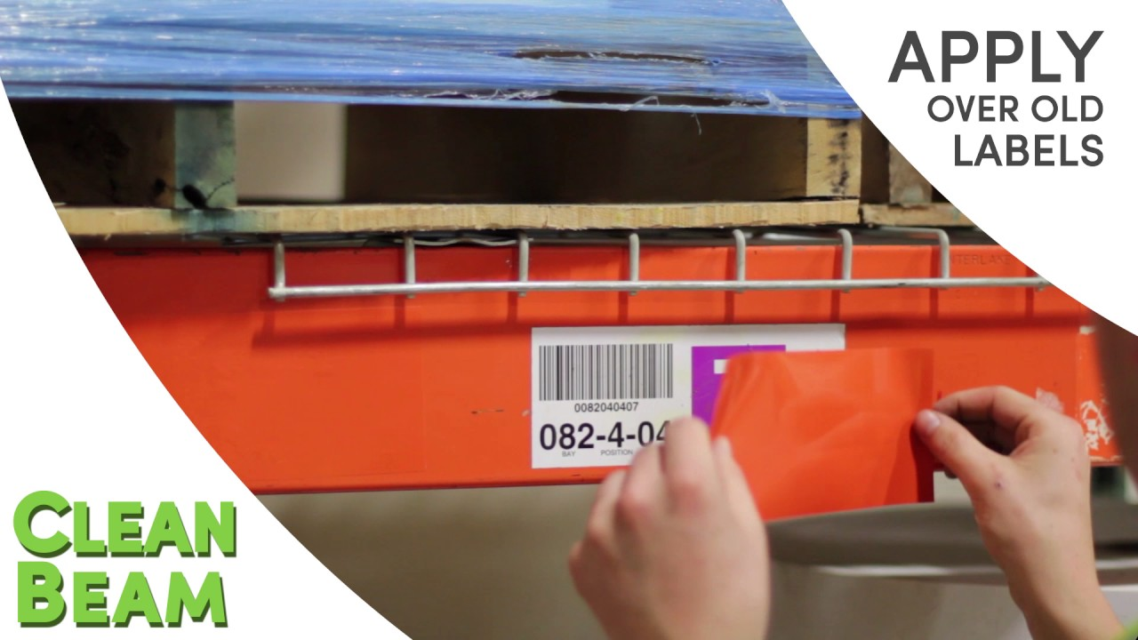 best labels for warehouse shelving