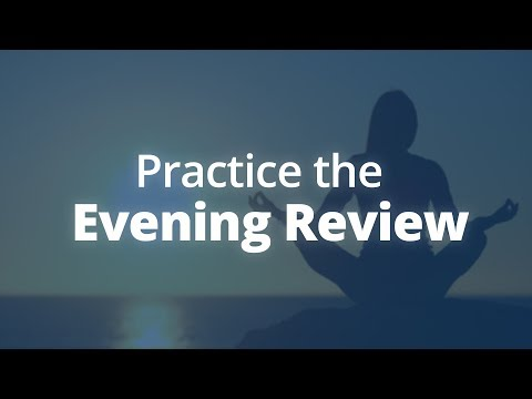 Evening Review: A Different Way to Meditate | Jack Canfield