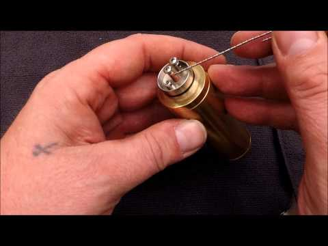 0.12 Ohm | Monster Tiger Dual Coil Tutorial | Cotton Wick