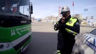 Otobüslerde Artık 'Polis' Var