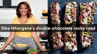 Siba Mtongana&#39s double-chocolate rocky road  Woolworths TASTE Magazine