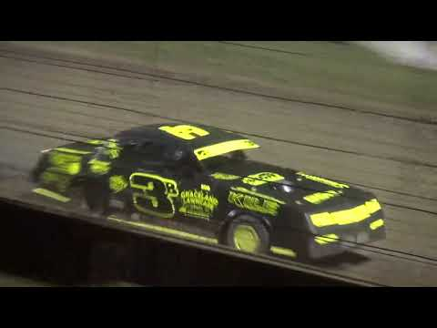 Mid Summer Madness Stock Car feature West Liberty Raceway 8/11/18