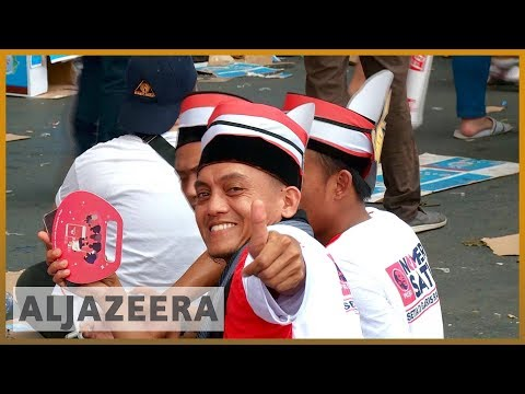 🇮🇩 Indonesia election: Campaigning ends before Wednesday polling | Al Jazeera English