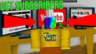 ROBLOX YOUTUBER SIMULATOR *GET FREE SUBSCRIBERS*